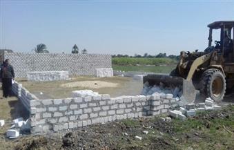 إزالة تعديات على 168 فدانًا وتسلمها للجنة استرداد أراضي أملاك الدولة بالمنيا