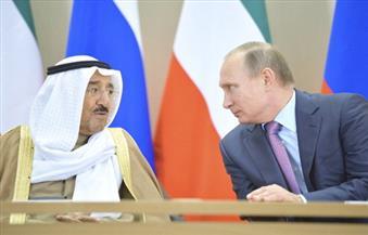 أمير الكويت يرسل برقية تعزية إلى الرئيس الروسي ويدين حادث الاغتيال