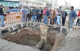 بالصور.. محافظ الغربية يُتابع أعمال إحلال وتجديد ماسورة مياه شرب رئيسية في طنطا