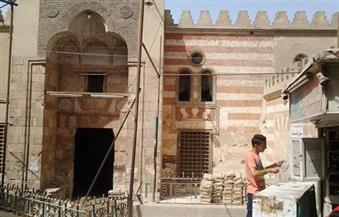 """بالصور.. الأوقاف تخصص نصف مليون جنيه لترميم مسجد """"قايتاي"""" بالفيوم"""