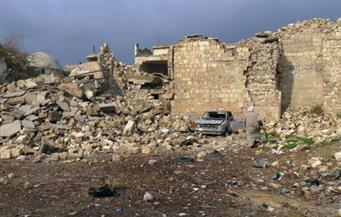 وفاة 7 سوريين لانهيار مبنى سكني متصدع جراء الحرب بحلب