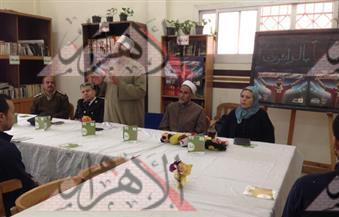 بالصور.. بدء ندوة التوعية لنزلاء سجن المرج العمومى بالتعاون مع مصلحة السجون