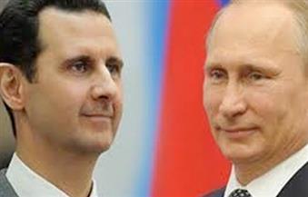 بوتين يهنئ الأسد بـتحرير حلب