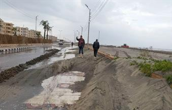 بالصور.. الأمطار الغزيرة تغرق شوارع  كفر الشيخ وتتسب في انقطاع الكهرباء
