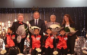 بالصور.. وزيرا الشباب والتضامن يشهدان حفل كورال أطفال مصر