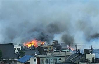 السلطات اليابانية تسيطر على نيران امتدت لمئات المباني