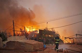 إصابة 3 أشخاص في حريق بمحطة وقود بالقناطر الخيرية