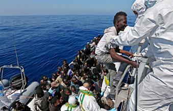 البحرية الليبية: إنقاذ 120 مهاجرا غير شرعي بالقرب من سواحل طرابلس