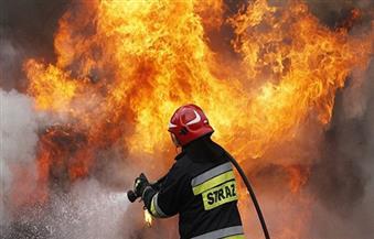 حريق بمدرسة بالحامول في كفرالشيخ يؤدي إلي احتراق باب الكنترول ولوحة الكهرباء