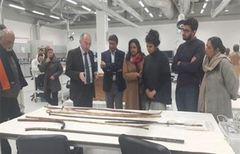بالصور.. السفير الهندي بمصر خلال زيارته المتحف الكبير: المصريون قادرون على حفظ تراثهم