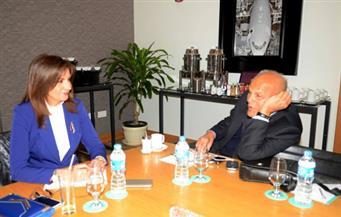 """وزيرة الهجرة تلتقي """"يعقوب"""" لبحث إنشاء مؤسسة وطنية للعلماء والخبراء المصريين بالخارج"""