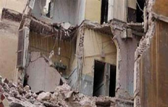 إصابة 3 عمال في انهيار جزئي لمبنى تحت الإنشاء بمدرسة بأسوان