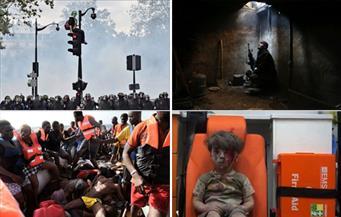 """شاهد..77 صورة تلخص أحداث العالم بعدسة """"نيويورك تايمز"""".. متواضع وغير متوقع وصادم ومرتبك حصاد 2016"""