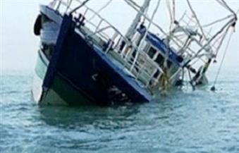 شحوط مركب صيد ببوغاز رشيد وعليها 12 صيادا من كفرالشيخ وجهود لإنقاذهم من الغرق