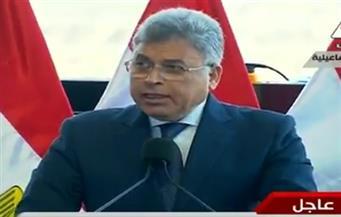 رئيس هيئة الرقابة الإدارية يعرض نتائج أعمال لجنة المشروعات القومية