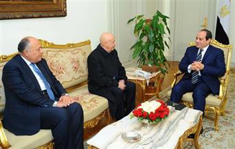 """السيسي لرئيس """"النواب"""" الليبي: أنتم فقط من تملكون حق تقرير مصيركم"""