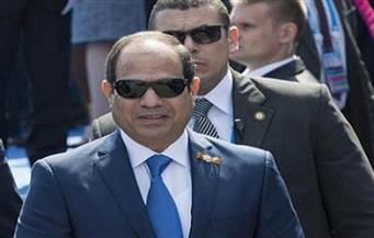 السيسي يعطي إشارة البدء لافتتاح كوبري النصر العائم ببورسعيد
