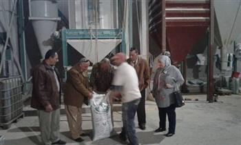 زراعة الشرقية: تشغيل مصنع علف دواجن بالزقازيق