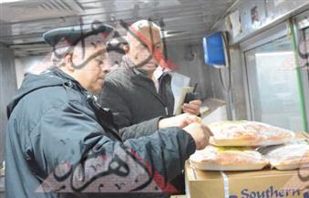 بالصور.. ضبط كوارع وشاورمة ولحوم فاسدة فى حملة على المطاعم العائمة بالقاهرة