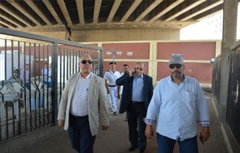 للمرة الثانية في أسبوع.. رئيس مترو الأنفاق والعضو المنتدب يتفقدان أعمال تطوير محطة المرج الجديدة