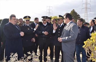 """رئيس """"الإنتاج الإعلامي"""" يناقش خطط تأمين المدينة مع وفد من مديرية أمن الجيزة"""