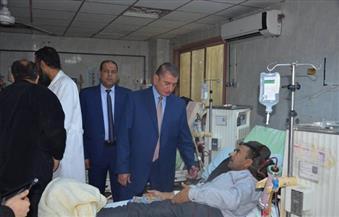 بالصور .. زيارة مفاجئة لمحافظ كفر الشيخ  إلى مستشفى العبور للتأمين الصحى  وإحالة 84 طبيبًا واداريًا للتحقيق