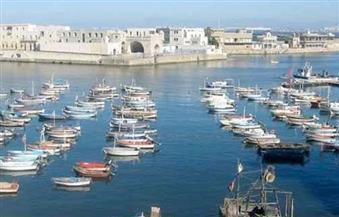 انتظام حركة الملاحة في مياه البحر المتوسط.. وخروج 220 مركبًا من ميناء الصيد بالبرلس