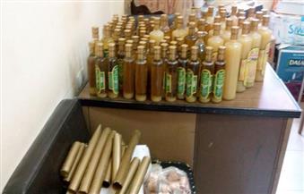 مصادرة 20 طن زيت زيتون وعسل غير صالح للاستهلاك الآدمي بالغربية