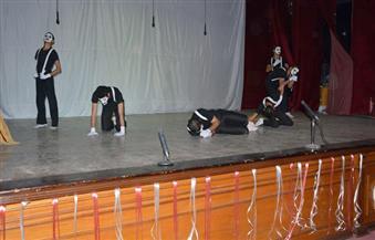 بالصور.. انطلاق المهرجان التاسع للعروض القصيرة للمسرح بجامعة الفيوم