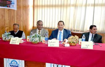 رئيس جامعة بورسعيد يفتتح المؤتمر الخامس والثلاثين للهندسة البحرية