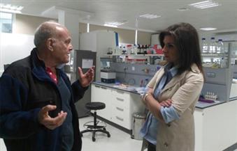 وزيرة الهجرة تزور أسوان لدعوة مجدي يعقوب لمؤتمر العلماء المصريين بالخارج