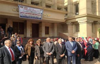 السفيرة مرفت تلاوي تشارك في افتتاح مشروع أندية الروتاري والأينرويل بجامعة القاهرة
