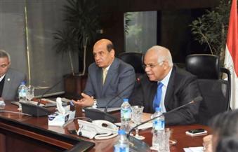 بالصور.. وزير النقل يلتقي رئيس الهيئة العربية للتصنيع لبحث الموقف التنفيذي لمشروعات السكك الحديدية
