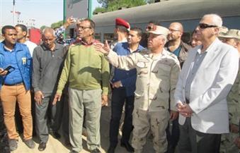 بالصور.. الوزير: توجيهات من رئيس الجمهورية بسرعة إنهاء أعمال تطوير محطة قطار أسوان