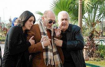 تشييع جنازة زوجة محمد صبحي بحضور عدد من الفنانين