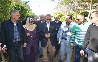"""بالصور.. محافظ كفرالشيخ يتابع حملة مكافحة فيروس """"سي"""" بالتعاون مع صندوق """"تحيا مصر"""" في بيلا"""