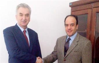 نائب رئيس الوزراء البوسني للشئون الاقتصادية والاستثمار يستقبل السفير المصري في سراييفو