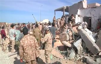 """بالفيديو.. قوات ليبية تطهر آخر معقل لتنظيم """"داعش"""" في سرت"""