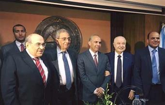 بالصور.. عمرو موسى: طلال أبو غزالة رمز مهم لنجاح أي مواطن عربي