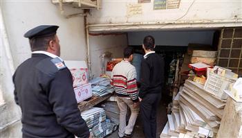 ضبط 3 مصانع مخالفة في حملة بالقليوبية