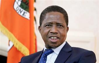 رئيس زامبيا: سعيد بزيارة الأهرامات واكتشاف عراقة الحضارة المصرية