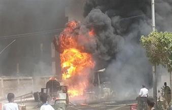 إصابة حارس عقار وزوجته في انفجار بمخزن شرق الإسكندرية