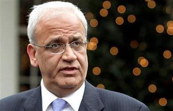 """عريقات يطالب بريطانيا بالاعتذار للشعب الفلسطيني عن وعد """"بلفور"""""""