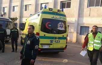 مصرع وإصابة شخصين فى حادث تصادم داخل دير العذراء بسوهاج