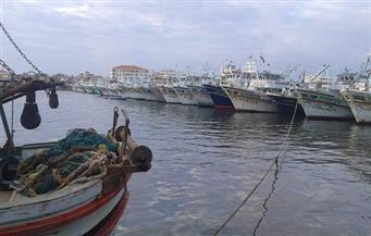 إغلاق بوغاز الصيد بدمياط بسبب الطقس السيئ.. والميناء لم يتوقف