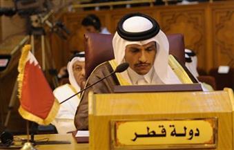 وزير الخارجية القطري يدعو إلى تحرك عربي في المحافل الدولية لدعم الشعب الفلسطيني