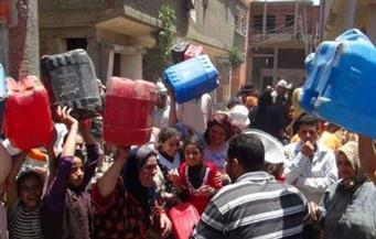 """انقطاع المياه عن 5 قرى بدشنا.. والأهالي يهددون بتنظيم احتجاجات بـ""""الجراكن"""""""