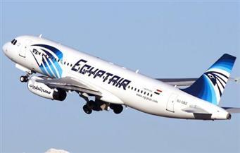 """""""مصر للطيران"""" توضح حقيقة ارتطام الطائرة القادمة من روما بصاعقة في السماء"""