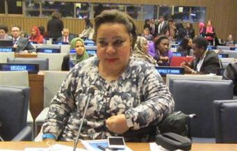 """هبة هجرس تشارك """"أون لاين"""" في اجتماع أممى لدعم النساء ذات الإعاقة لمواجهة كورونا"""
