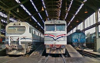 السكة الحديد: تأخر قطارات الوجه القبلى لسقوط عجلة البوجى من إحدى عربات قطار بضاعة